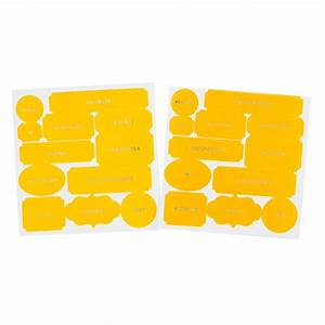 Color Theory Die Cut Labels - Lemon Zest - Studio Calico