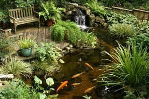 teich mit bachlauf im garten anlegen tipps und ideen With superb idee deco jardin terrasse 5 comment amenager une mare naturelle