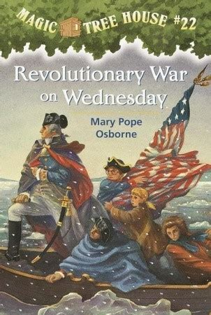 revolutionary war  wednesday magic tree house