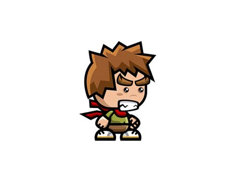 Brave Boy Game Character Sprite Sheets on Behance