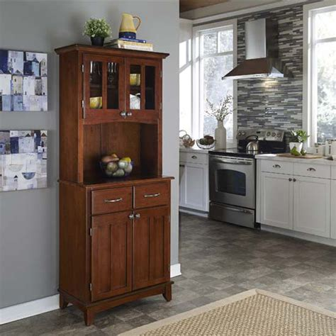 cupboards hutches cherry wood buffet server