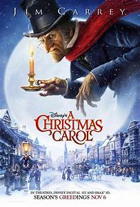 """Carrey's """"A Christmas Carol"""" Official Poster Revealed"""