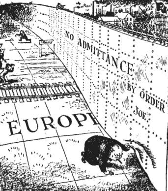 iron curtain speech definition the iron curtain which winston churchill spoke about in