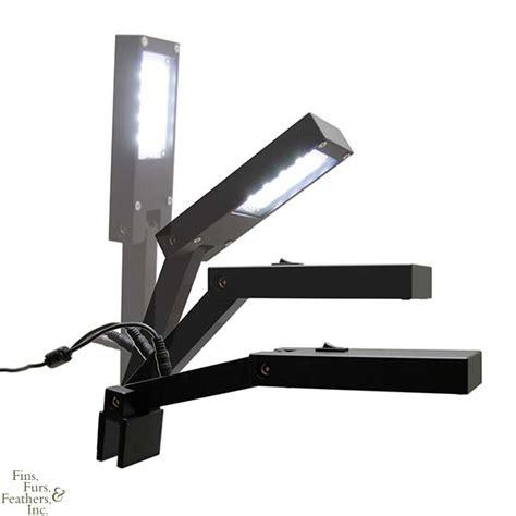 small clip on light hydra aquatics retina i led fixture a small sleek clip