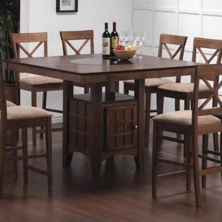 counter height desk with storage coaster hyde counter height dining table with storage in