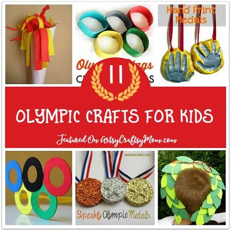 11 simple and olympic crafts for to make 714 | Olympic Crafts for Kids