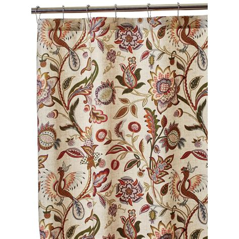 home depot shower curtains home decorators collection dreamcatcher 72 in shower