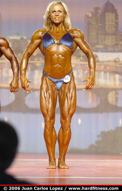 Christine Roth - prejudging - 2006 Arnold Classic - Figure ...