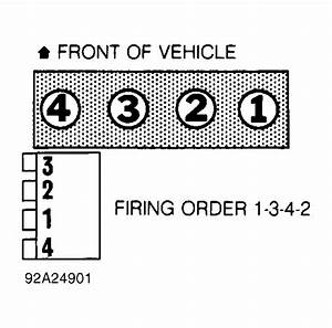 Firing Order  Can You Show Me A Diagram Of Where Each