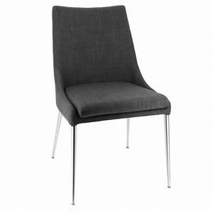 Chaise En Tissu : chaise moderne en tissu debby 4 pieds tables chaises et tabourets ~ Teatrodelosmanantiales.com Idées de Décoration
