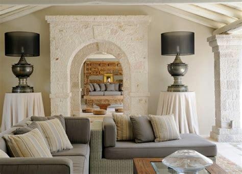Wohnzimmer Mediterran Einrichten by Mediterrane Wohnideen