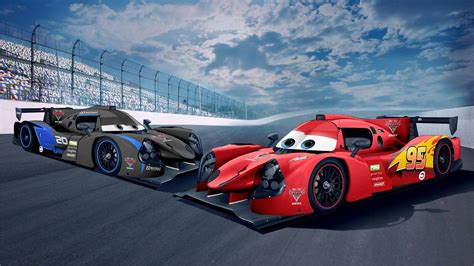 Race Cars by Lmp3 Race Cars Get Lightning Mcqueen Jackson Liveries