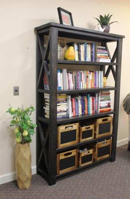 rustic  book case    home projects  ana