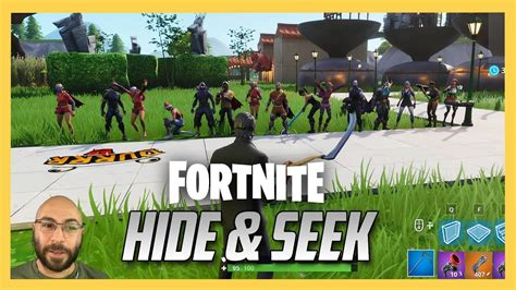 fortnite hide  seek   creative map youtube