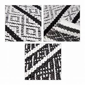 Läufer Schwarz Weiß : teppich l ufer flur 80x200 70x140 schwarz wei handarbeit baumwolle gewebt ebay ~ Orissabook.com Haus und Dekorationen