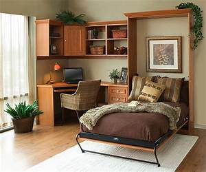 25, Creative, Bedroom, Workspaces, With, Style, And, Practicality