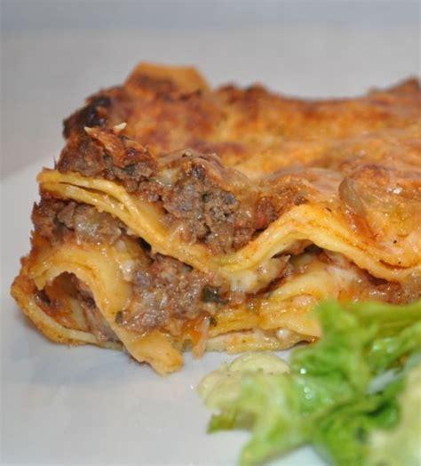 les recettes de la cuisine de asmaa lasagne à la sauce bolognaise les recettes de la cuisine