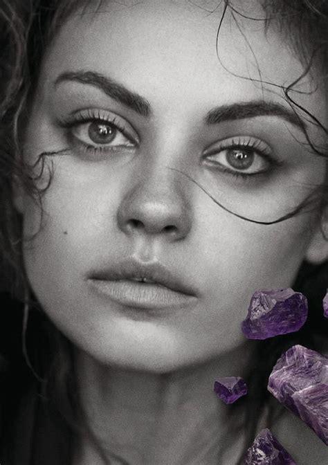 Natural Beauty Mila Kunis By Peter Lindbergh In Gemfields