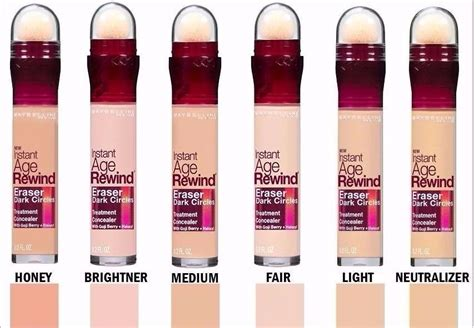 corrector rostro maybelline instant age rewind 150