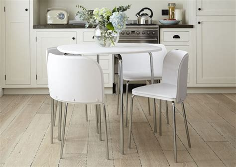luxury idea space saving dining table  chairs