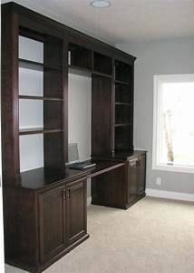 15, The, Best, Desk, With, Matching, Bookcases