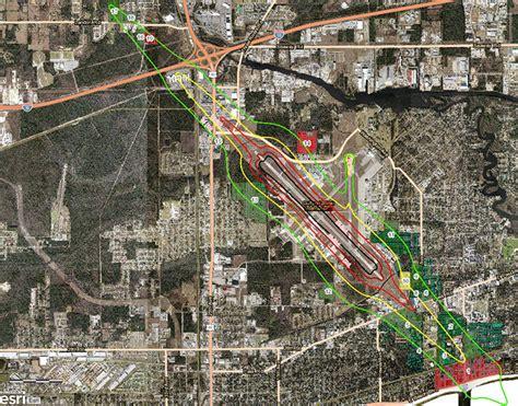 Gulfport Biloxi International Airport Map