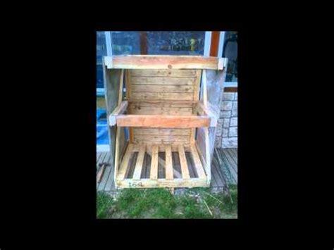 fabrication d un clapier en bois