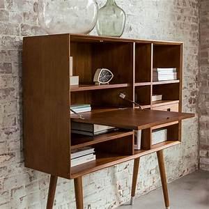 Bureau Secretaire Vintage : style vintage d cryptage de ce look r tro mais pas trop ~ Teatrodelosmanantiales.com Idées de Décoration