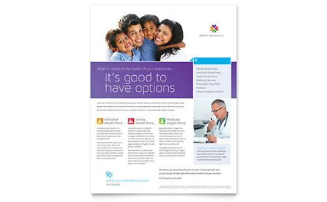 insurance flyers templates designs