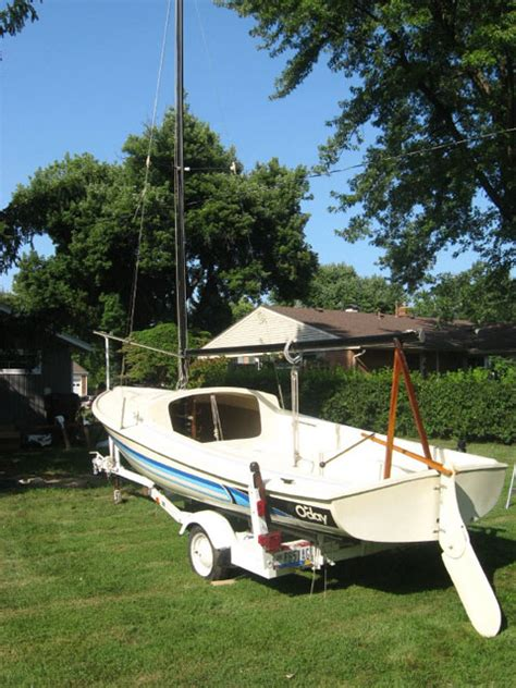oday daysailer ii  dayton ohio sailboat  sale