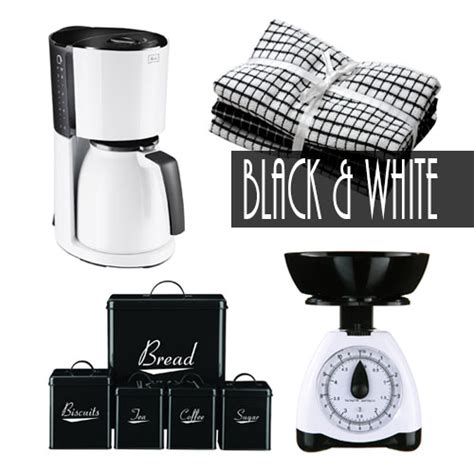 black kitchen accessories uk black and white kitchen accessories 4683