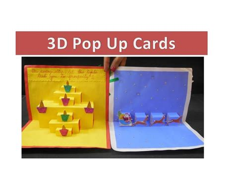 Diy  How To Make 3d Pop Up Greeting Cards Youtube
