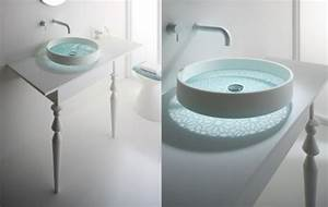 Waschbecken Kleines Badezimmer : glattes schickes waschbecken das motiv waschbecken von omvivo ~ Sanjose-hotels-ca.com Haus und Dekorationen
