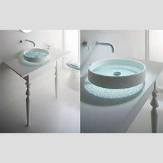 Glattes, Schickes Waschbecken Das Motiv Waschbecken Von
