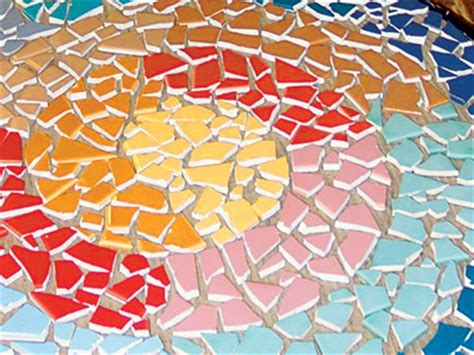 Vorlagen Für Mosaikbilder by Farbenfrohes Mosaik