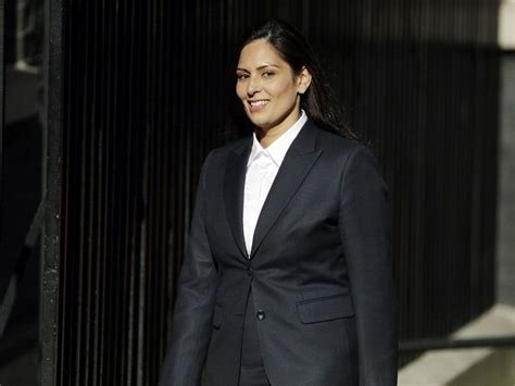 Priti Patel takes charge as UK's first British-Indian home ...