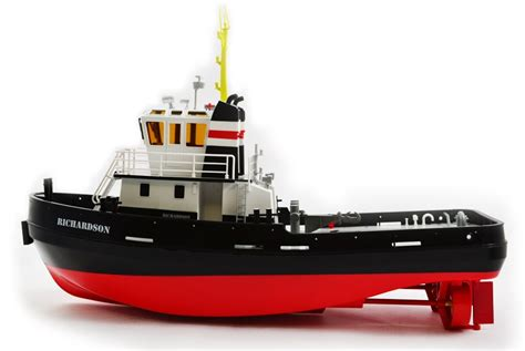 Boat Rs Brisbane by Remorqueur Richardson 2 4ghz Premium Line Hobby Engine