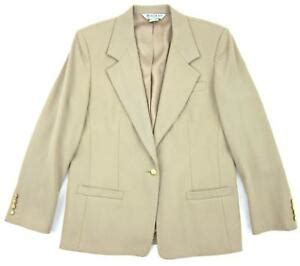 austin reed light camel khaki single button wool blazer