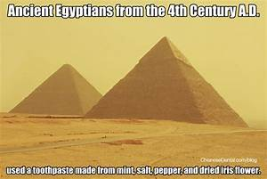 Dental Meme: What Ancient Egyptians Used for Toothpaste