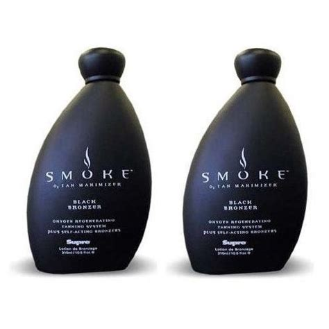 tanning bed lotions with bronzer lot of 2 supre smoke black bronzer indoor tanning bed