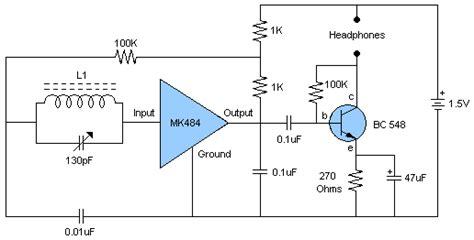 Radio Receiver With Circuit Diagram