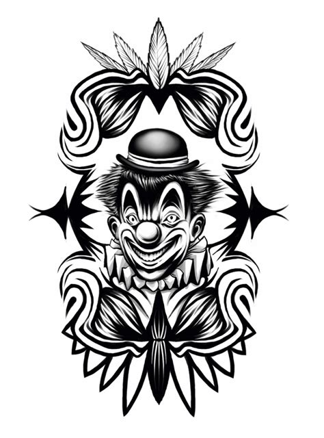 16 Best Clown Tattoo Ideas, Designs And Pictures
