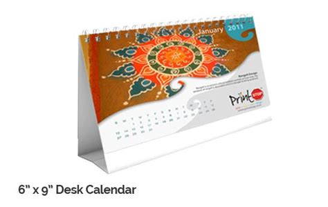 print your own desk calendar customize and print personalised desk calendar online