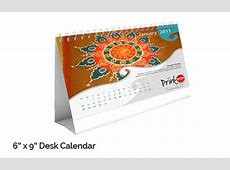 Customize and Print Personalised Desk Calendar Online