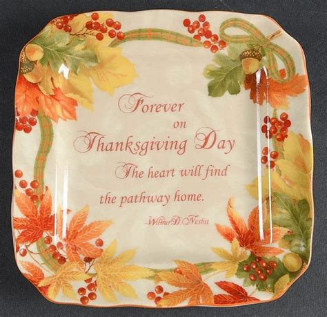 Celebrate Autumn Dinner by 222 Fifth Autumn Celebration Square Appetizer Plate