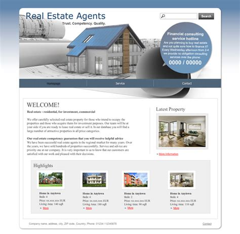 real estate template 10 new templates for real estate agents