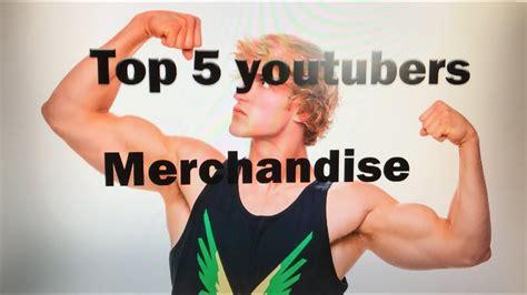 Top 5 Famous Youtubers Merchandise Youtube