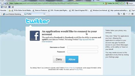 add twitter account   facebook page youtube