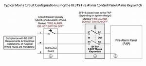 Bf319 Fire Alarm Control Panel Mains Keyswitch