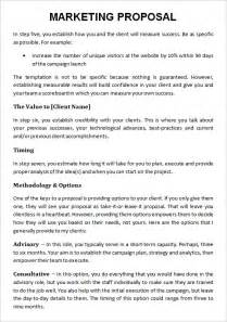 Sample marketing proposal template 19 documents in pdf for Proposal for marketing services template